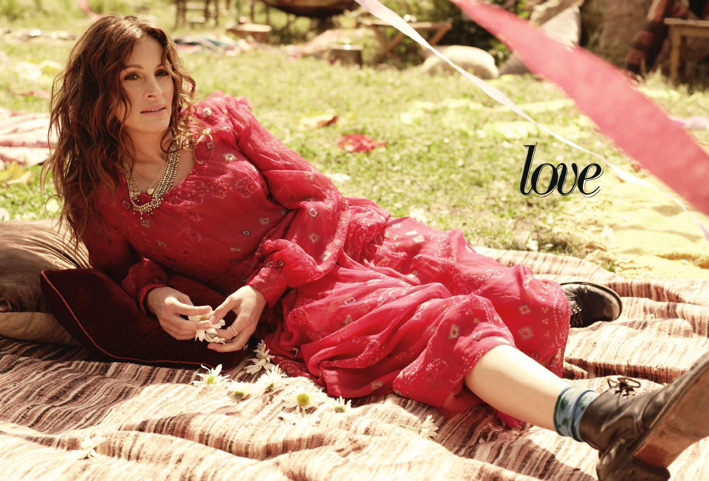 Julia Roberts: Eat Pray Love / Джулия Робертс: Есть, молиться, любить / фотограф Carter Smith