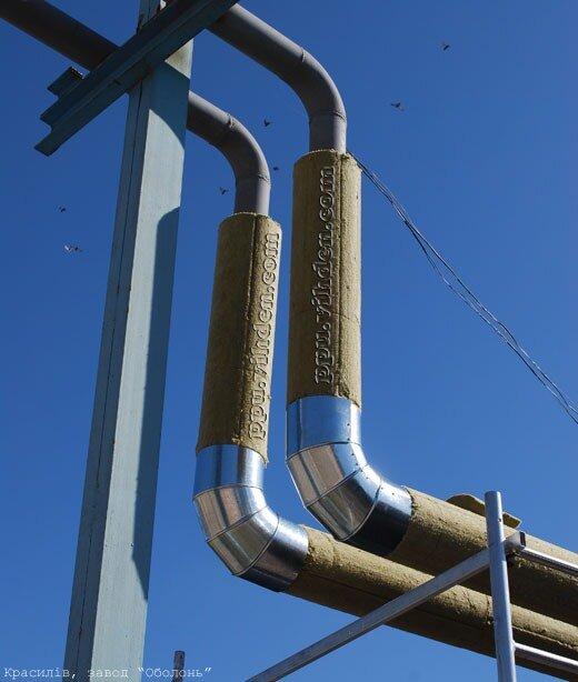 Ізоляція трубопроводів (ізоляція паропроводів)