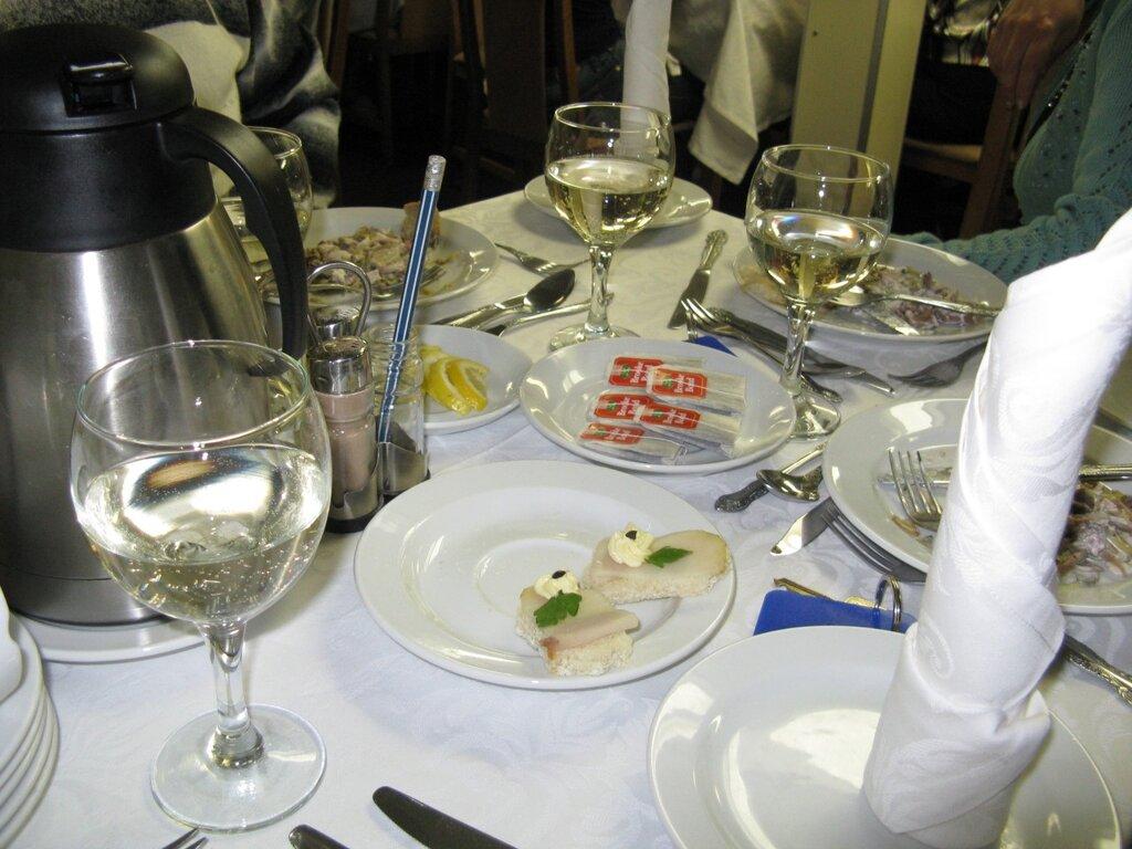 Круиз Н.Новгород-Астрахань, Прощальный ужин