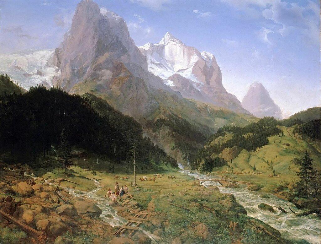 Ernst_Ferdinand_Oehme_-_Das_Wetterhorn_(1829).jpg