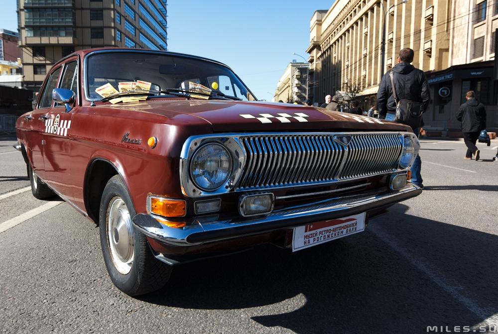 Праздник московского такси
