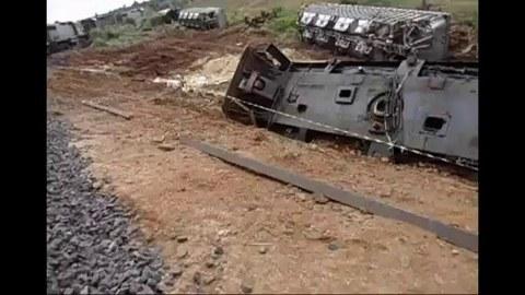 Неудачная буксировка поезда