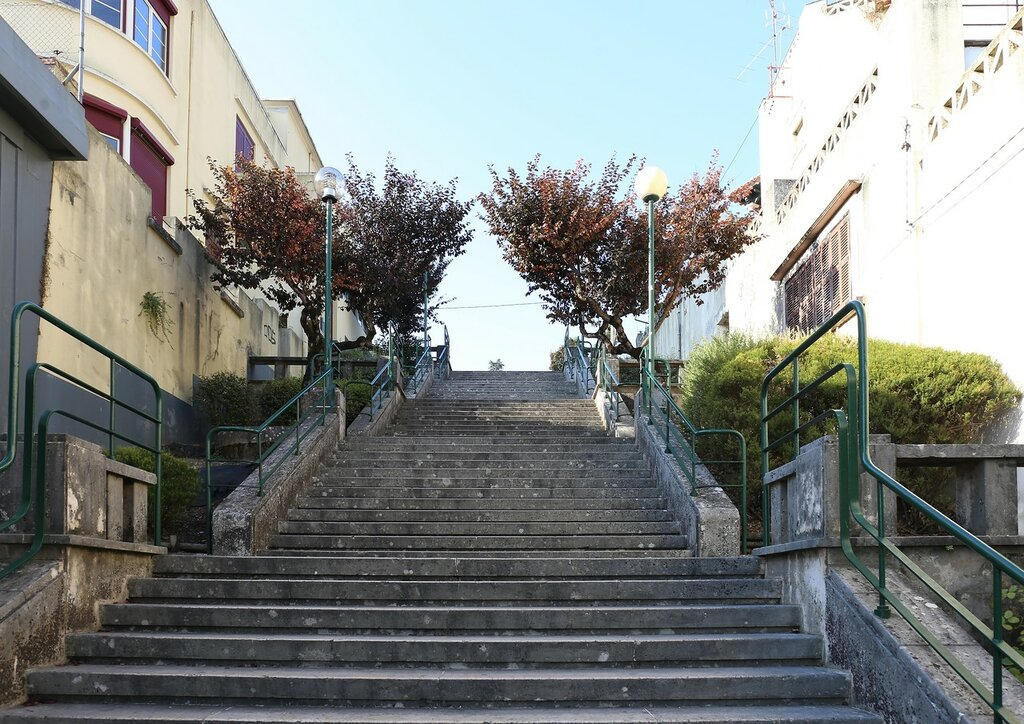 Leiria. Escadas Doutor José Jardim