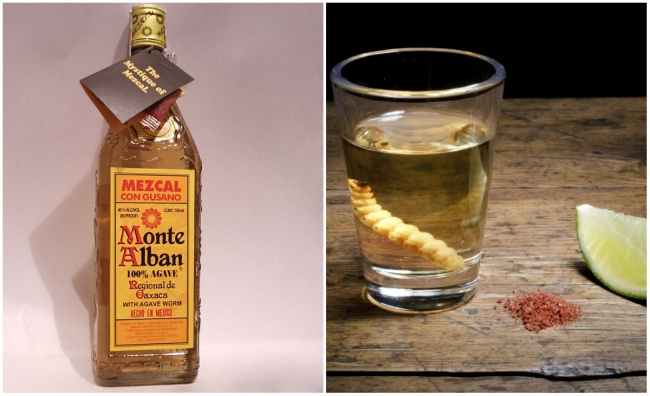 Мескаль— традиционный алкогольный напиток, производящийся, как итекила, вМексике изагавы. Технич