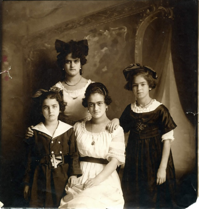 Фрида сродственниками, 1926