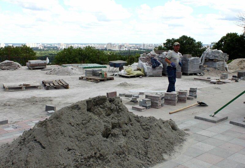 Реконструкция площадки обозрения Мариинского парка