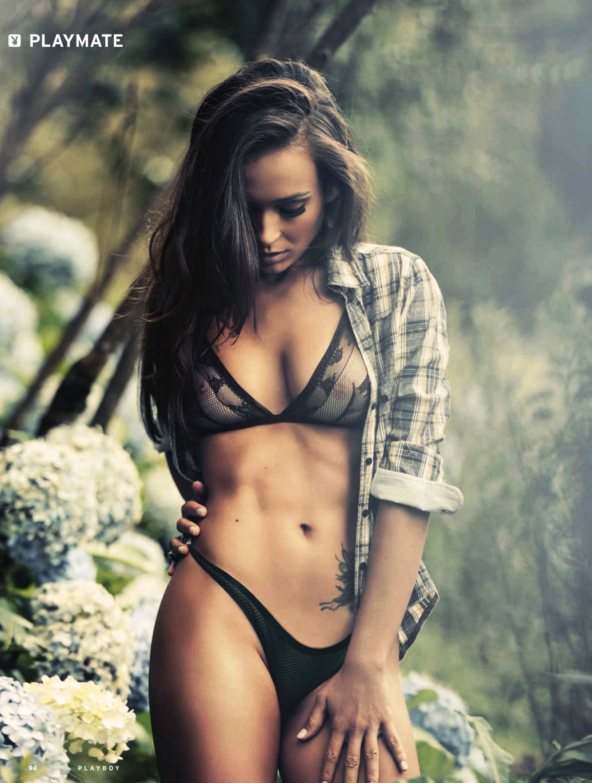 Bianca Borba / Бьянка Борба - Девушка месяца в Playboy Россия, апрель 2014