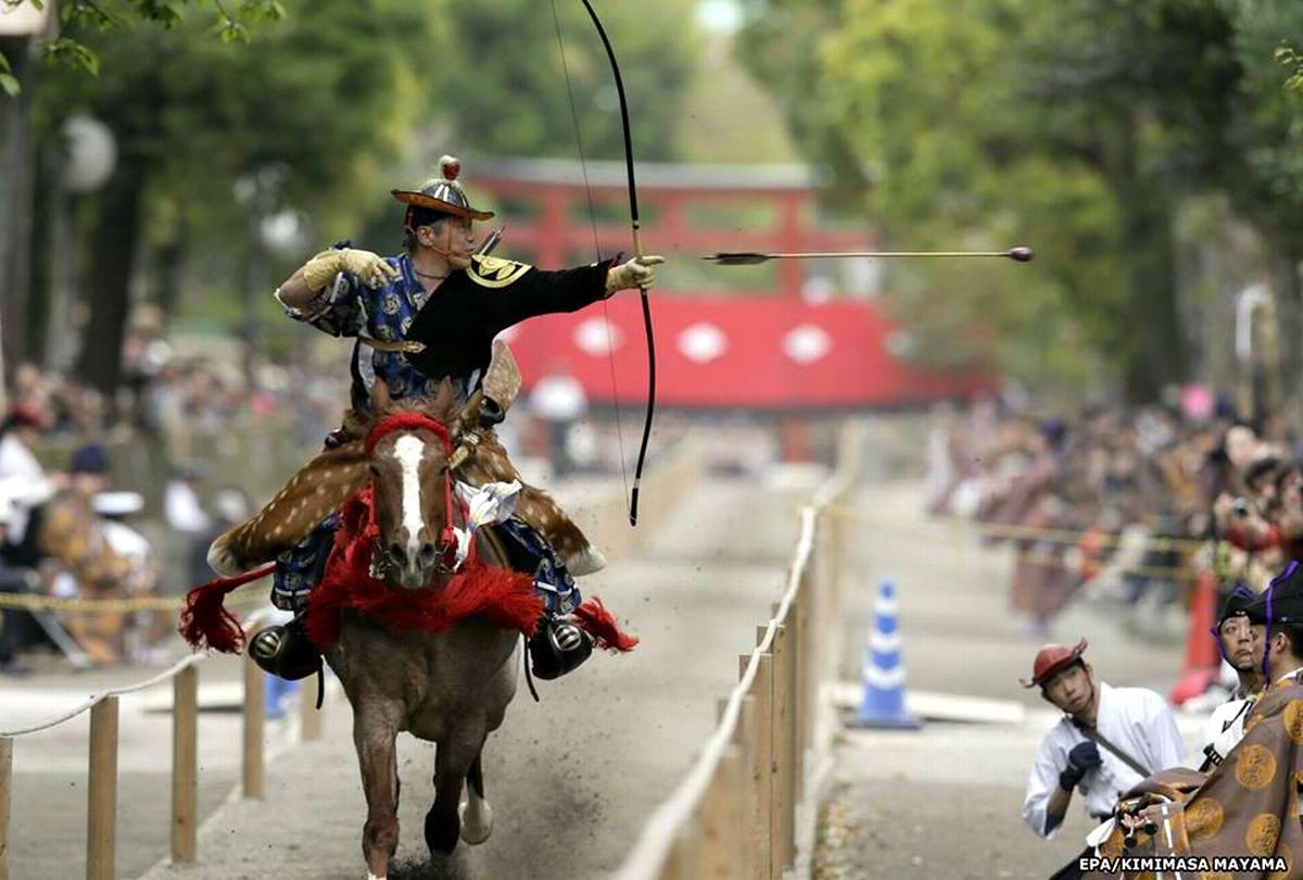 Стреляем из лука на полном скаку: Потомки японских самураев (23)