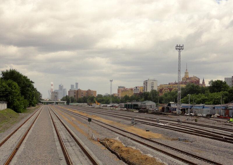 Станция Серебряный Бор