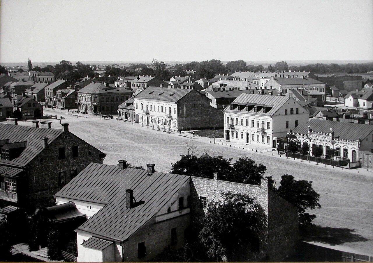 Общий вид Думской площади. 1900