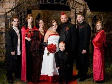 Свадьба на Хеллоуин