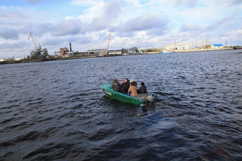 Новодвинская крепость - переправа