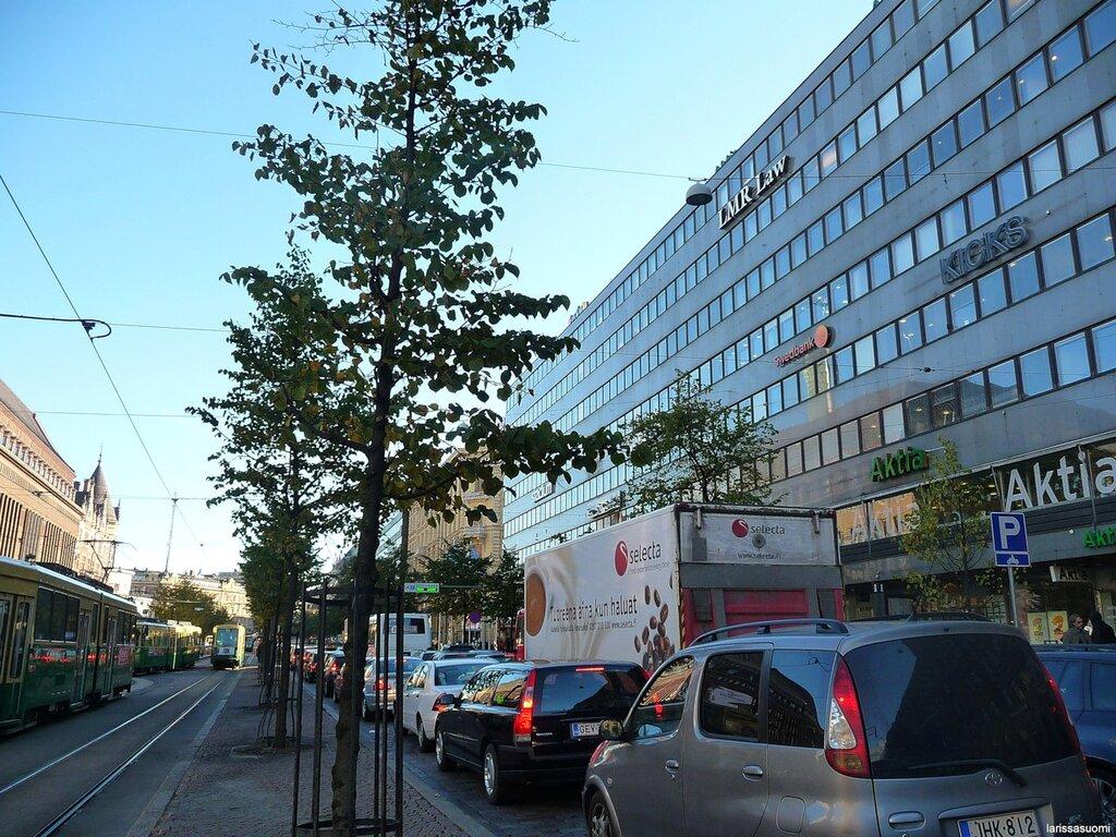 Главная улица - Маннергейминтие.