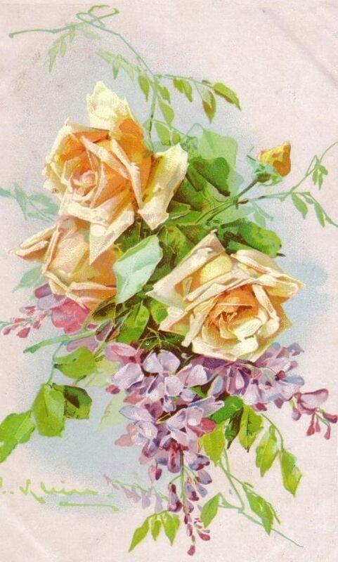 К. Кляйн. 90. Розы.