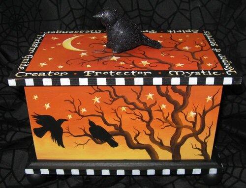Шкатулки Хеллоуин