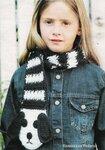 вязание спицами шарфы паутинки. вязание для детей 3 лет.