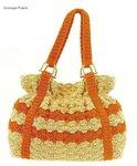 А вот еще модель вязанной сумки понравилась.