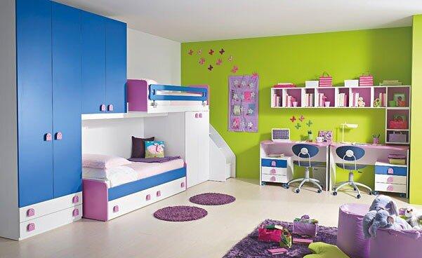 20 идей для детской комнаты ( для мальчиков и девочек от 3-х до 10-и лет)