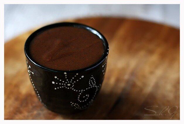 Молочный конфитюр с шоколадом