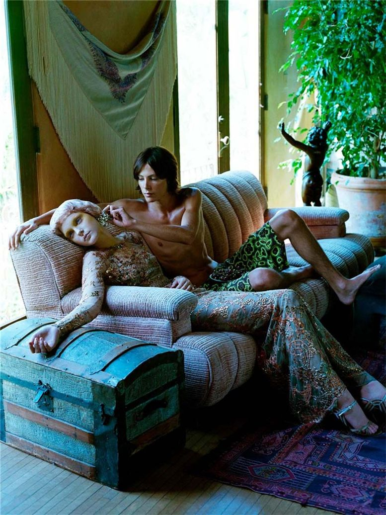 Джессика Стам / Jessica Stam by Steven Meisel