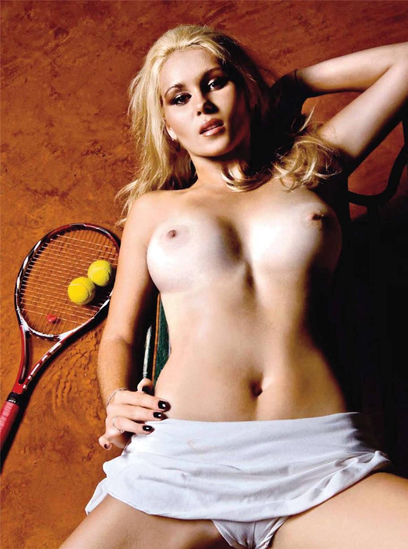 теннисистка Каролина Йованович / Karolina Jovanovic in Playboy Croatia