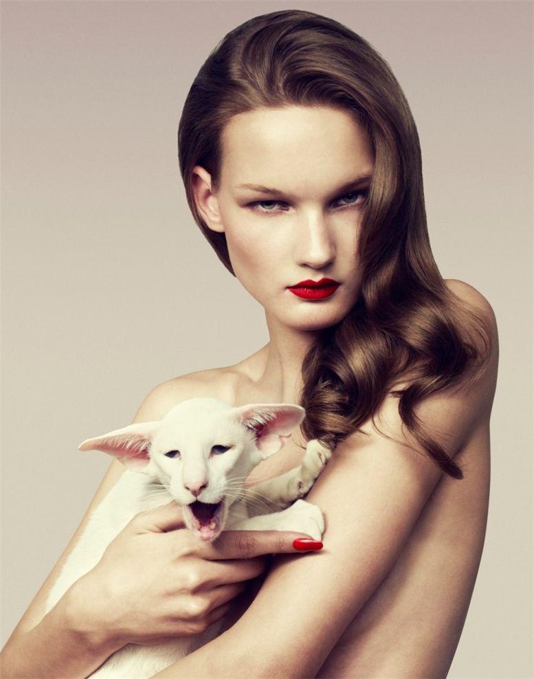 модель Кирси Пирхонен / Kirsi Pyrhonen, фотограф Samuli Karala