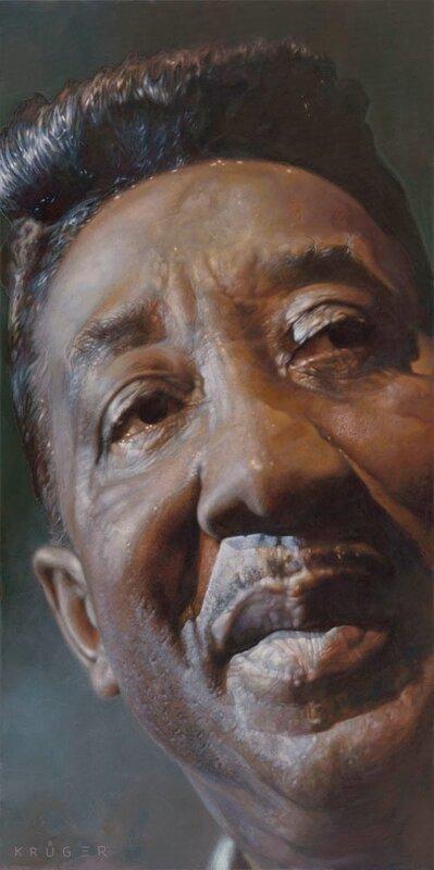 Muddy Waters ,художник Sebastian Krüger,Germany