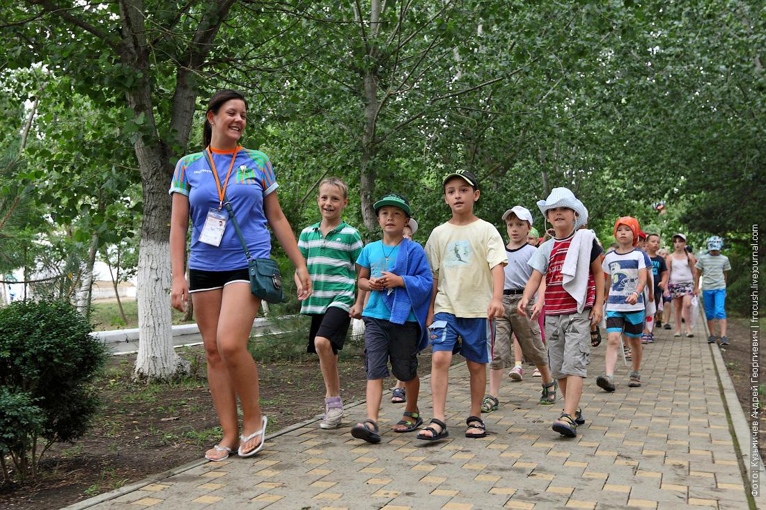 Черное море лагерь Жемчужина России дети