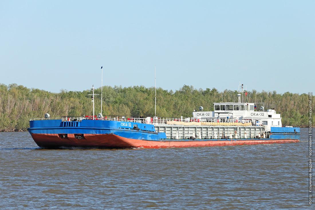 танкер-бункеровщик «Ока-32» 1983 года