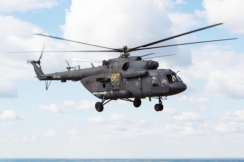 Миль Ми-8МТВ-5 (RF-91183 / 80 желтый) D804579