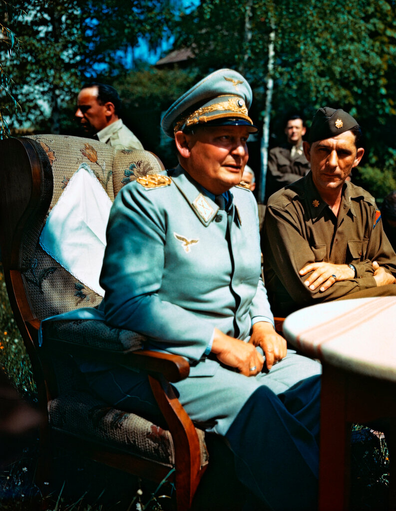 Hermann Goering Seated with Others