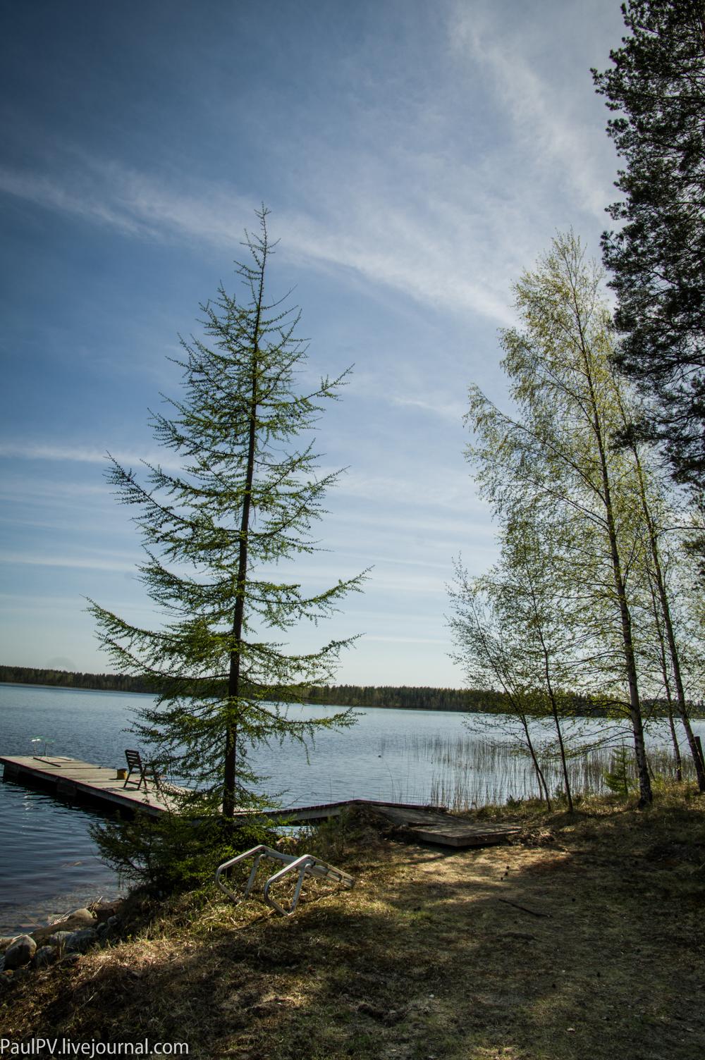 - Финляндия в начале мая
