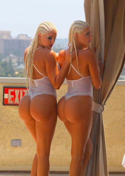 The Shannon Twins Showing Off Their Assets
