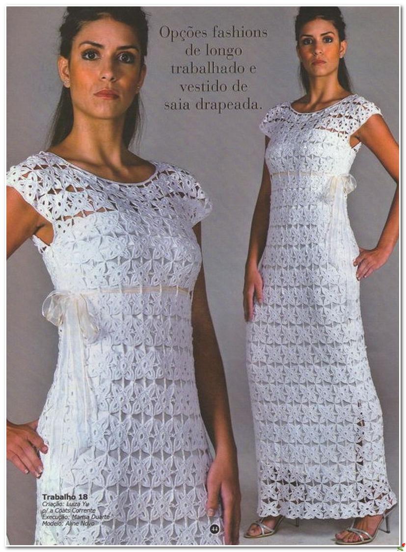 Вязание крючком платья сарафаны крючком со схемами