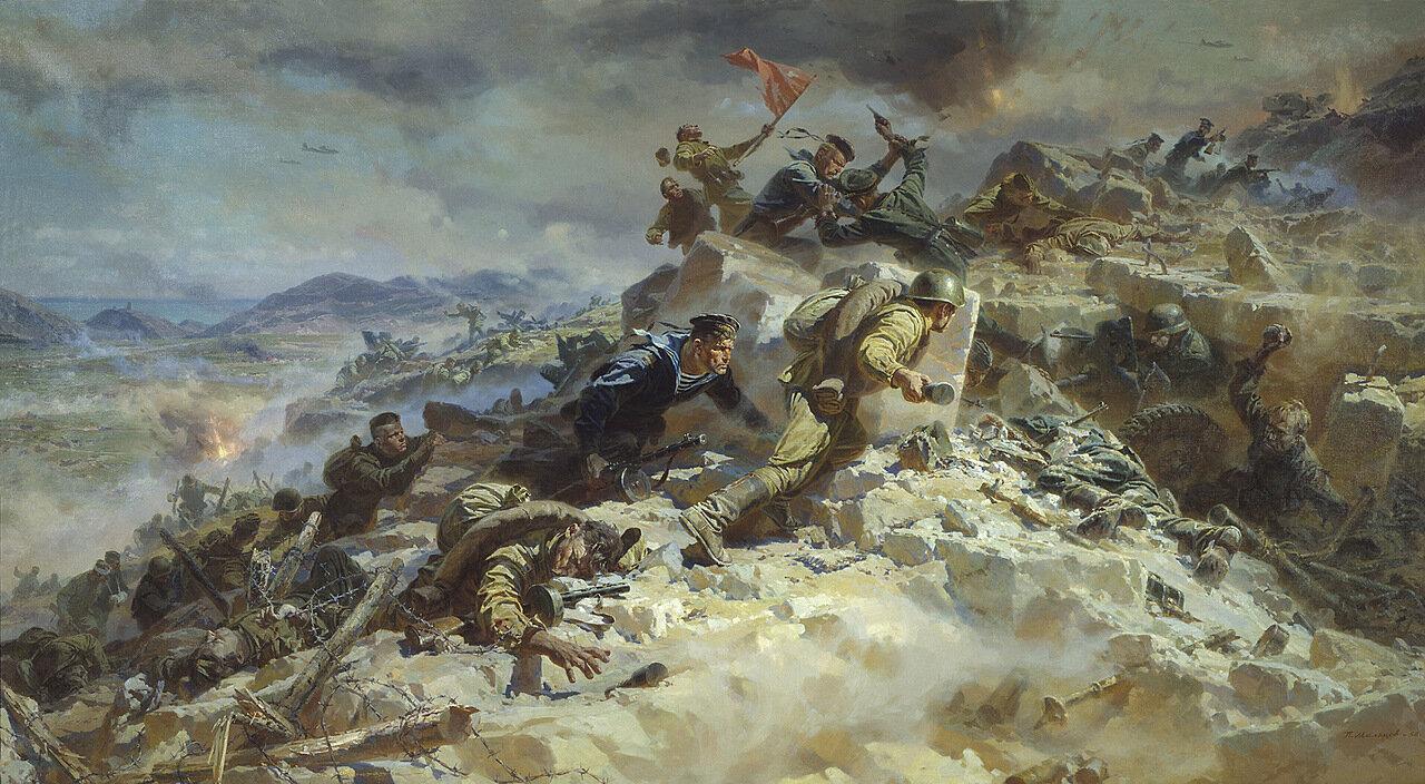 Советская живопись: Картины о Великой Отечественной войне.