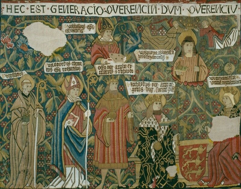 Родословное древо Св. Вальбурги, ок. 1520 г., Эйхштетт