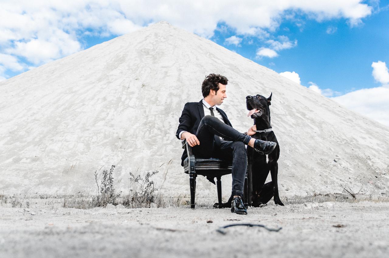 Как проходят мастер-классы, мужчина с собачкой