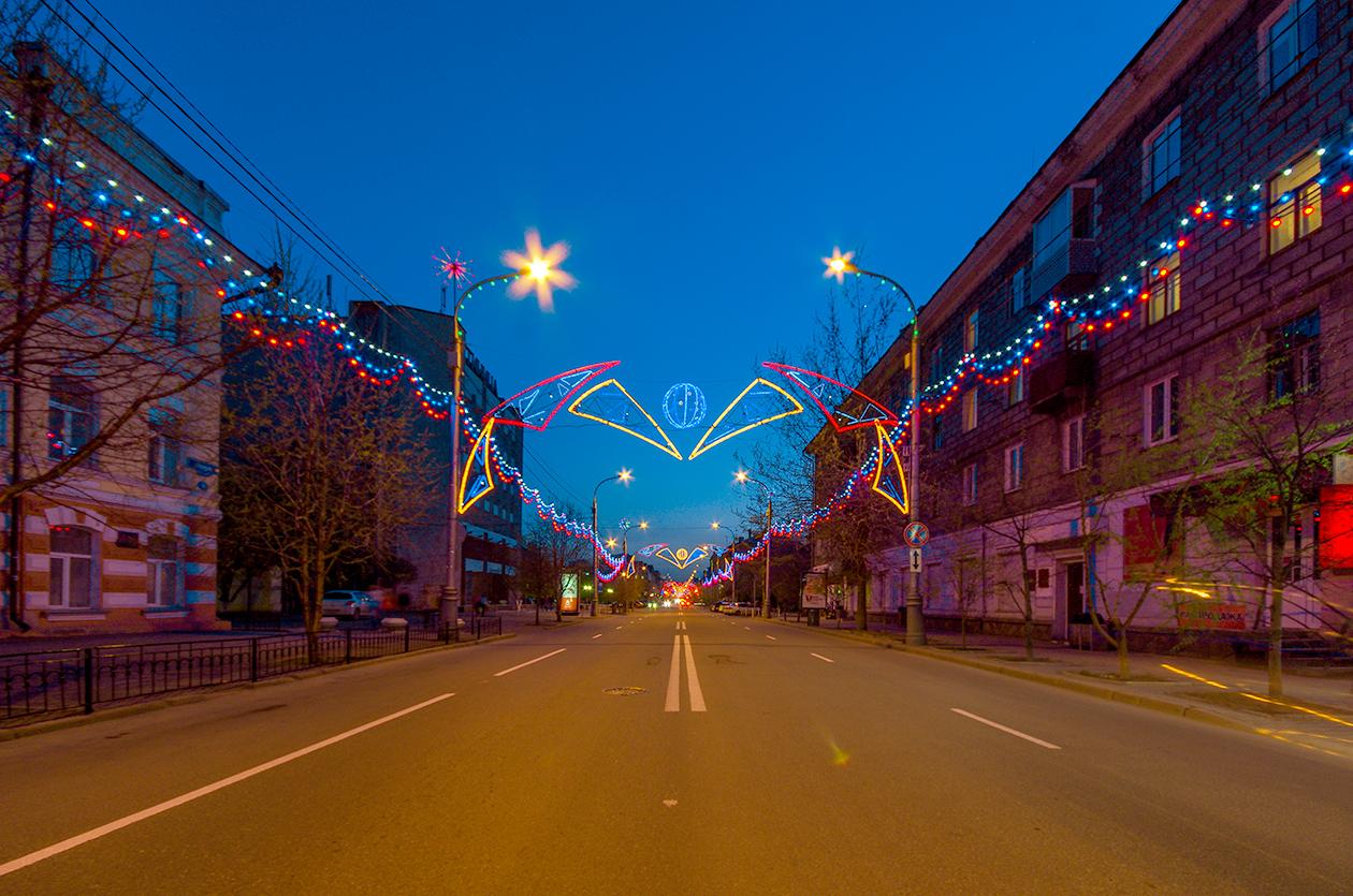Главная улица Красноярска