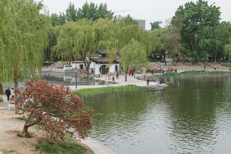 Сад знаменитых беседок Китая, Парк Таожаньтин, Пекин