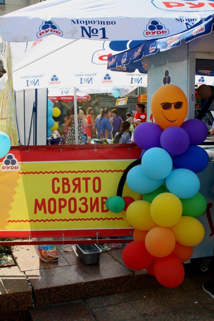 Реклама фестиваля мороженого