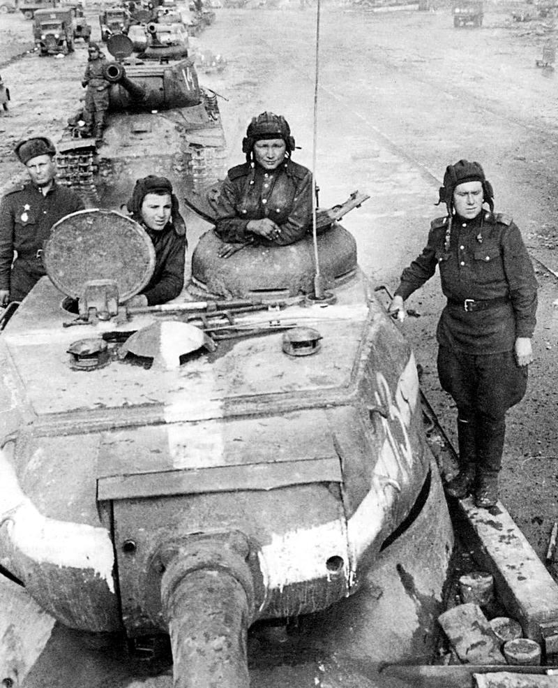 Падение Берлина на фотографиях весны 1945 года (26)