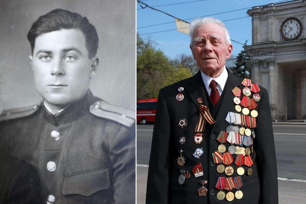 15 героев Великой Отечественной Войны из 15 республик Советского Союза - Георгий Парул, уроженец Молдавии, 89 лет