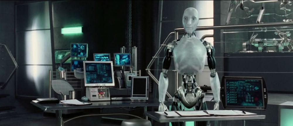 Я-робот и лампы