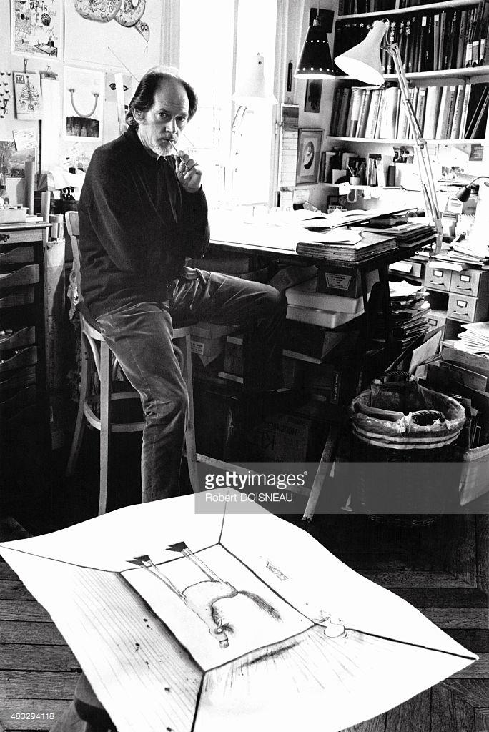 Портрет британского художника и карикатуриста Рональда Сирла