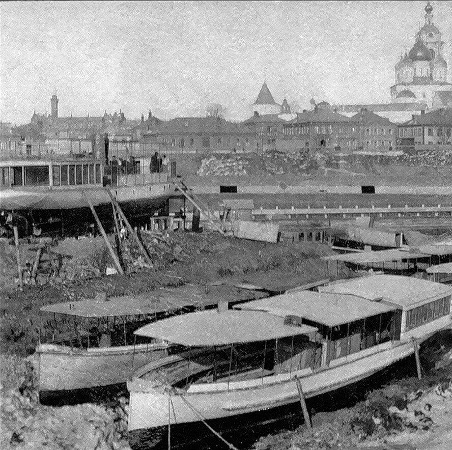 1920-е. Новоспасский монастырь из Замоскоречья