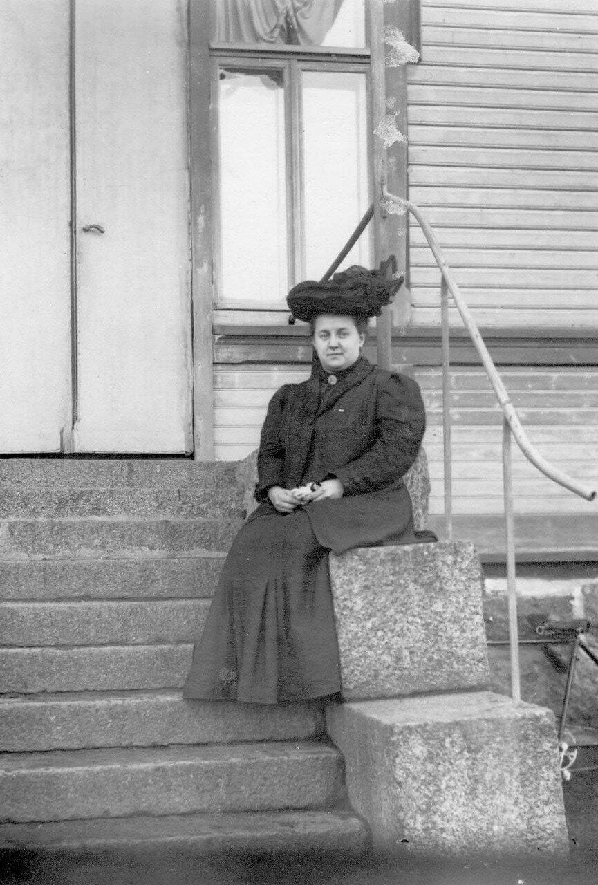 23. Вдова М.Я.Герценштейна
