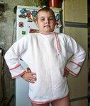 Мой сын в косоворотке