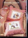 Детские вышитые подушки.  Прочитать целикомВ.