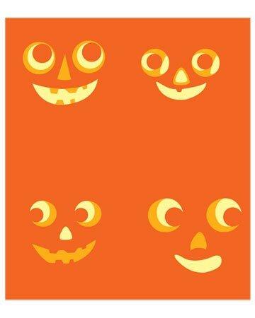 Трафареты к Хеллоуину