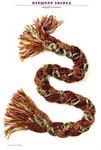 Шарф-косичка: изящная змейка Вязание.